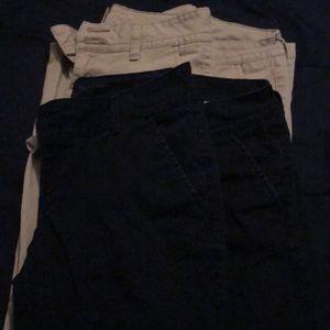A bundle of Arizona Jeans Co., 2Navy blue&2khaki